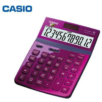 CASIO卡西欧计算器DW-200TW魅雅系列大按键金属烤漆可摇头计算器