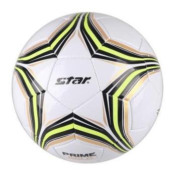 世达(STAR)耐磨PU比赛训练足球SB5385C-05绿色款