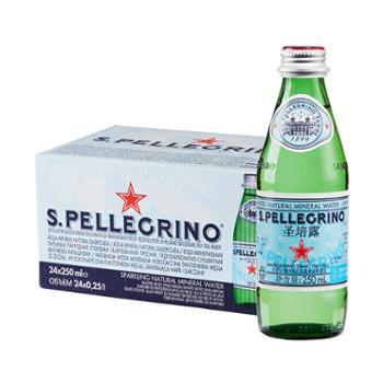 圣培露(S.PELLEGRINO)充气天然矿泉水250ml*24瓶