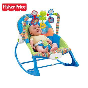 费雪轻便婴儿多功能安抚摇篮X7033