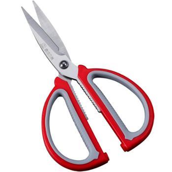日美剪刀剪子家用办公学生裁缝不锈钢大中号手工剪布剪纸锋利