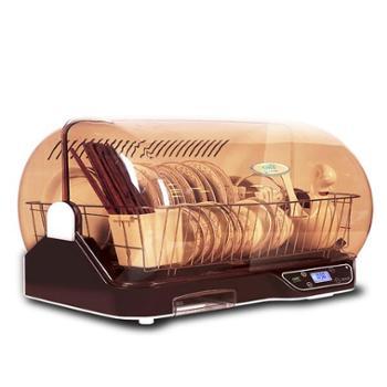 万昌消毒柜家用小型迷你桌面台式消毒碗柜厨房紫外线碗筷烘干机