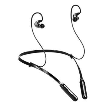 FMJ Z5四动圈蓝牙耳机 无线运动型颈挂脖式 跑步男女项圈入耳挂耳式脑后头戴双耳塞超长待机5.0苹果OPPO通用