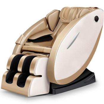 佳胜达按摩椅JSD-A5音乐太空舱自动摇摆 新款电动揉捏多功能按摩器礼品 香槟金