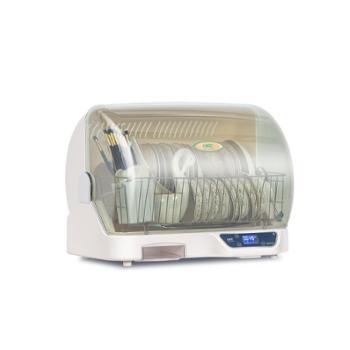 万昌家用台式消毒柜迷你小型消毒碗柜厨房碗碟烘干机餐具收纳盒