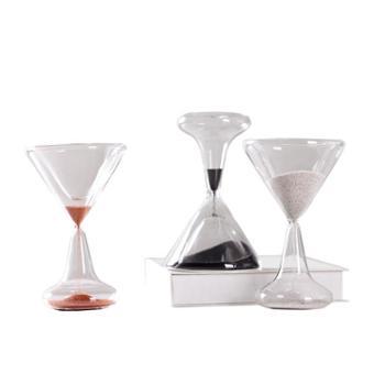 时光沙漏计时器1分钟创意家居展厅酒杯型沙漏小清新装饰礼物摆件