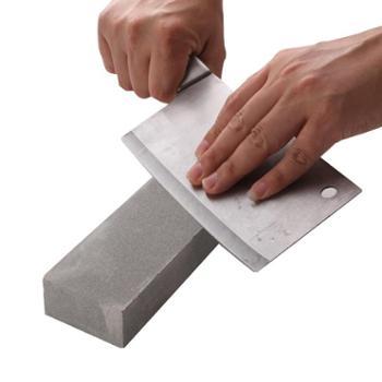 天然磨刀石家用菜刀开刃油石双面打磨细腻砥石青石浆石浆荡棒器
