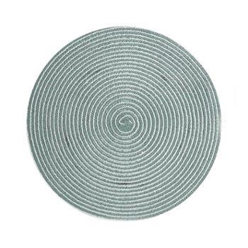 北欧风餐桌垫隔热垫家用西餐垫防烫茶杯垫圆形餐盘垫4片装