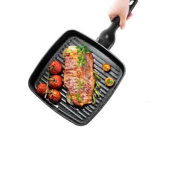 德国WMF牛排煎锅专用条纹家用方形通用
