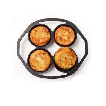 厨时代 铸铁煎蛋锅家用蛋饺锅不粘锅无涂层
