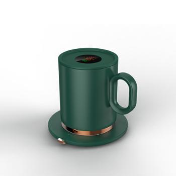 米贝丽 USB数显暖暖杯 U1 陶瓷+ABS