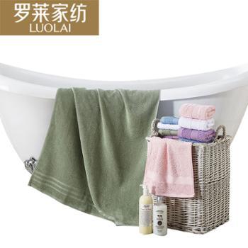 罗莱进口纯棉浴巾男女通用(绿色)140*70cm
