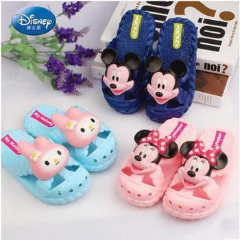 迪士尼儿童拖鞋男童女童宝宝软底居家夏款中大童浴室防滑凉拖鞋