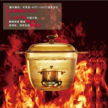 美国康宁晶彩透明锅/VS-22/2.25L深锅
