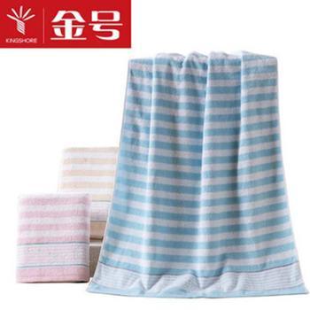 金号纯棉浴巾成人大规格全棉柔软强吸水男女/儿童适用RC262H