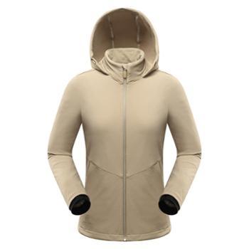 布来亚克BLACKYAK女款弹力夹克修身保暖登山运动外套FZW648