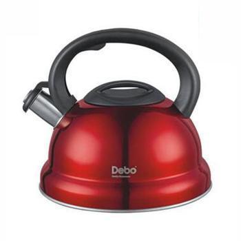 德铂/debo DEP-201 不锈钢电磁炉通用烧水壶 海格尔凤鸣 3L