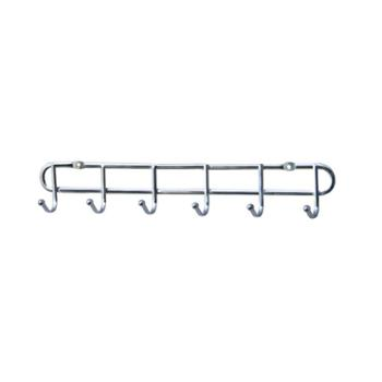 动动手 铁线电镀钩 6单钩