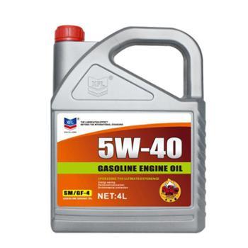 车之秀品全合成机油SM5W-40润滑油4L