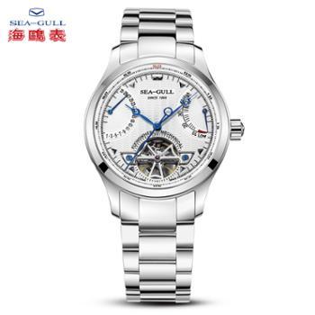 海鸥手表自动机械表多双历势能腕表飞轮传奇