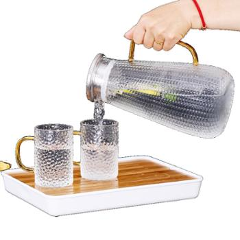 臻琦家用凉水壶高硼硅玻璃壶