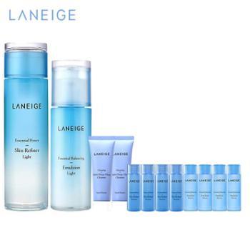兰芝/Laneige水衡水乳护肤套装(透润/清盈)水200ml+乳120ml