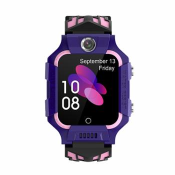 米狗MEEEGOU人脸识别视频通话4G儿童电话手表粉色W16