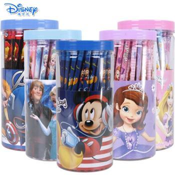 迪士尼儿童小学生幼儿写字HB铅笔72支装