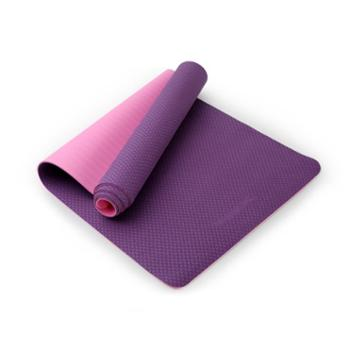 好家庭思比特双色tpe瑜珈垫环保加厚初学者健身垫防滑无味运动舞蹈XYJ-161
