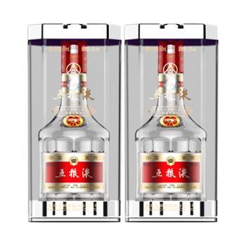 五粮液第七代限量收藏版52度500mlX2瓶装浓香型白酒