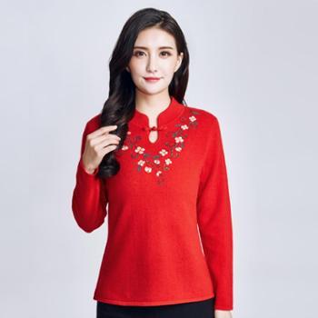 戎立特新款女士羊绒衫EW2011