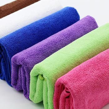 乐竹 5条装超细纤维毛巾 特价擦车巾/吸水毛巾/清洁巾/干发巾 擦玻璃不掉毛