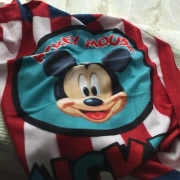 迪士尼 笑脸米奇丝绒毯 DSM-7041