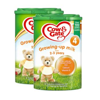 【2罐装】英国牛栏婴幼儿奶粉4段(适合2-3岁)800克/罐