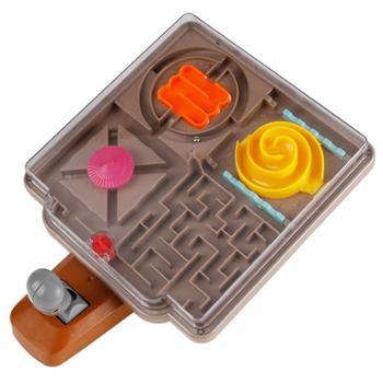 爱可优3d魔幻走珠智趣迷宫益智儿童玩具成人互动弹滚珠平衡球注意力训练