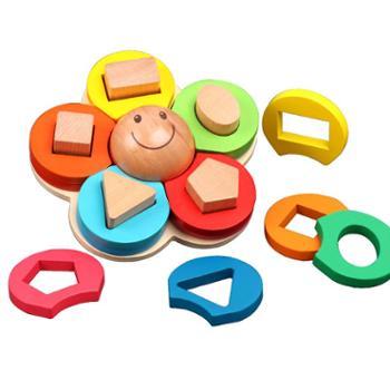 YIN BOO/艺贝玩具 形状配对套柱积木玩具