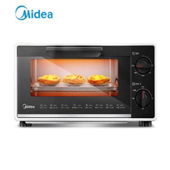 美的小烤箱T1-109F 10升家用容量