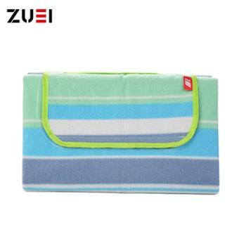 卓一生活(ZUEI)户外野餐垫快乐家族多功能休闲毯150*180cm