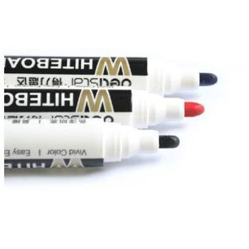 DELI 得力 S502可加墨可擦白板笔一支装