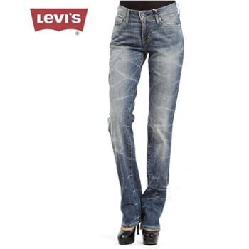 Levi's李维斯女士直筒磨白水洗牛仔裤05700-0109