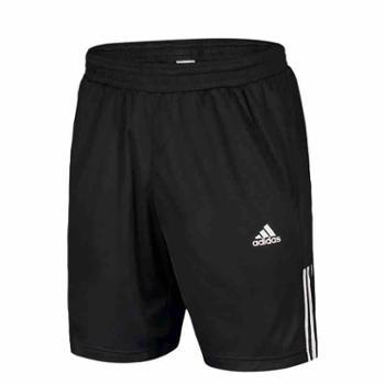 阿迪达斯男短裤网球运动速干跑步训练透气五分裤D84687S
