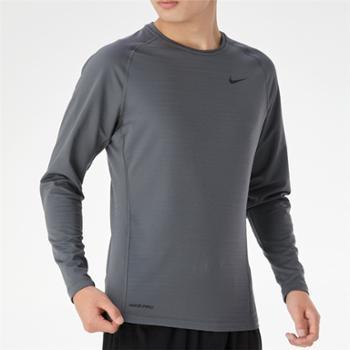 耐克NIKEPRO男子健身训练速干修身长袖T恤CV3047-068