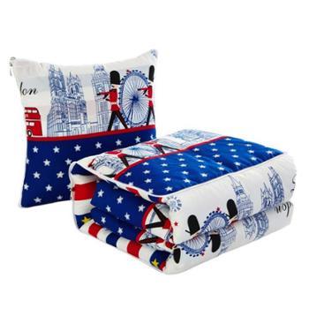 木辛梓抱枕被午睡空调被子精梳棉