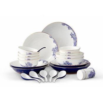 金和汇景·先生瓷海上明珠22头中餐具
