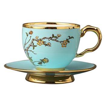 夫人瓷-西湖蓝150ml咖啡杯