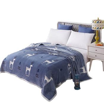 木辛梓云貂绒毛毯春秋冬天毯盖毯单人床单空调毯200*230CM