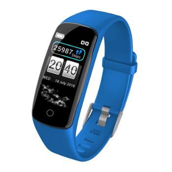 LANPICE彩屏智能手环V8【3色可选】 测血压心率睡眠监测运动计步防水手表