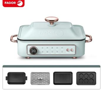 法格/FAGOR 多功能料理锅多用烧烤锅全套标配 BBC-912P1
