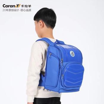 卡拉羊书包小学生男女儿童小孩双肩包背包低年级防水抗污杜邦面料CX2716