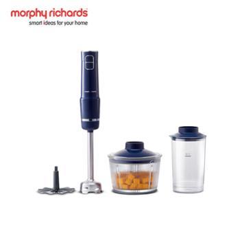 摩飞/MORPHY RICHARDS 家用多功能无绳手持料理机 MR6008